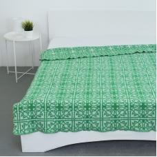 Одеяло п/ш жаккардовое 420 гр/м2 цвет кельт зеленый 200/240 см