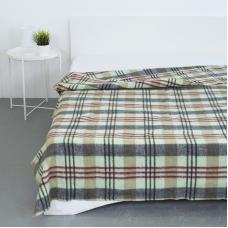 Одеяло полушерсть 420 гр/м2 цвет зеленый 200/240 см