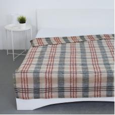 Одеяло полушерсть 420 гр/м2 цвет красный 190/200 см