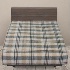 Одеяло п/ш (полушерсть) детское 420 гр/м2 полоса цвет серый 100/140 см