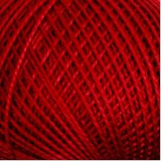 Нитки для вязания Ирис 100% хлопок 25 гр 150 м цвет 1204 бордо