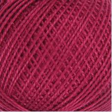 Нитки для вязания Ирис 100% хлопок 25 гр 150 м цвет 1206 свекольный