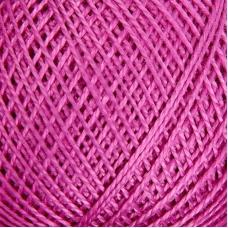 Нитки для вязания Ирис 100% хлопок 25 гр 150 м цвет 1706 сиреневый