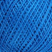 Нитки для вязания Ирис 100% хлопок 25 гр 150 м цвет 2714 синий