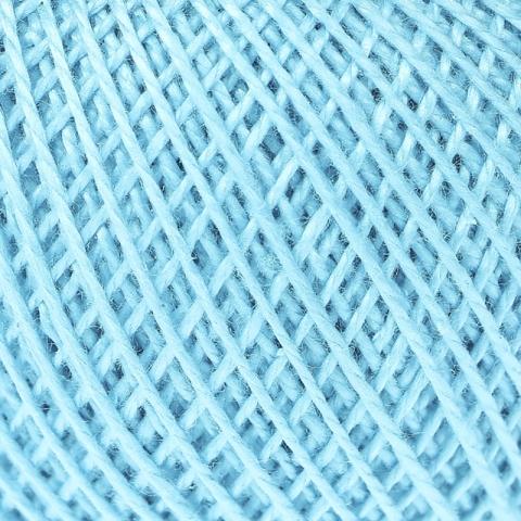 Нитки для вязания Ирис 100% хлопок 25 гр 150 м цвет 3006 бирюза