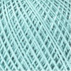 Нитки для вязания Ирис 100% хлопок 25 гр 150 м цвет 3506 серовато-нефритовый