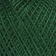 Нитки для вязания Ирис 100% хлопок 25 гр 150 м цвет 3807 темно-зеленый