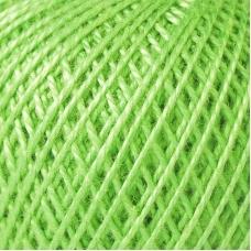 Нитки для вязания Ирис 100% хлопок 25 гр 150 м цвет 3908 нежные побеги