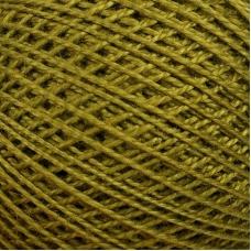 Нитки для вязания Ирис 100% хлопок 25 гр 150 м цвет 4506 зеленый
