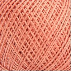 Нитки для вязания Ирис 100% хлопок 25 гр 150 м цвет 5602 светло-терракотовый