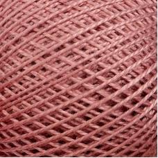 Нитки для вязания Ирис 100% хлопок 25 гр 150 м цвет 5704 бледно-малиновый