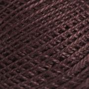 Нитки для вязания Ирис 100% хлопок 25 гр 150 м цвет 5710 тёмно-коричневый