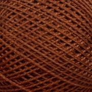 Нитки для вязания Ирис 100% хлопок 25 гр 150 м цвет 6512 коричневый
