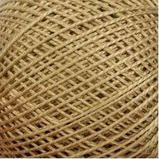 Нитки для вязания Ирис 100% хлопок 25 гр 150 м цвет 6604 бежевый