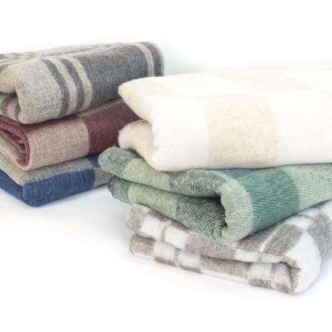 Одеяло п/ш (полушерсть) детское 110х140 см 400 гр/м2