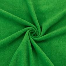Ткань на отрез флис цвет Трава