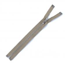 Молния металл №2 никель разъем 20см D885 хаки