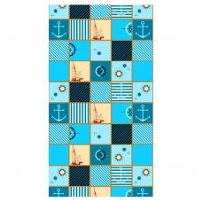 Набор вафельных полотенец 3 шт 35/70 см 553/2 Парус цвет бирюза