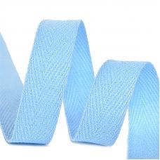 Лента киперная 15 мм хлопок 2.5 гр/см цвет S351 голубой
