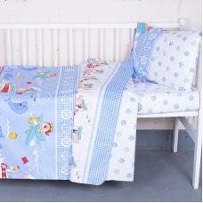 Постельное белье в детскую кроватку 92931 бязь ГОСТ