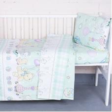 Постельное белье в детскую кроватку 92972 бязь ГОСТ
