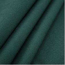 Ткань на отрез кашкорсе с лайкрой цвет темно-зеленый