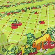 Скатерть хлопок  Овощи  150/150