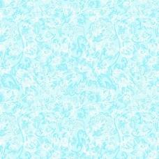 Ткань на отрез Тик 80 см 170 гр/м2 5337-1 Кружево цвет голубой