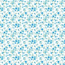 Ткань на отрез ситец 95 см 18982/2 Цветы