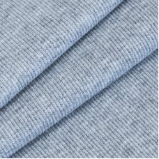 Ткань на отрез кашкорсе 3-х нитка с лайкрой 4985-1 цвет серый меланж