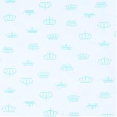 Ткань на отрез бязь плательная б/з 150 см 369/16 цвет мята