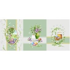 Ткань на отрез рогожка 150 см 11569/1 Весна