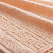 Полотенце махровое Туркменистан 50/90 см цвет Персиковый