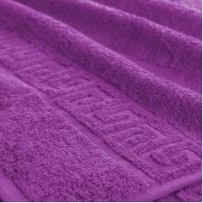 Полотенце махровое Туркменистан 40/65 см цвет Фиолетовый