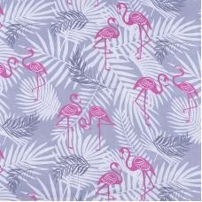 Ткань на отрез бязь 120 гр/м2 детская 150 см 2112/1 Фламинго
