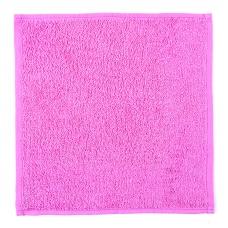 Салфетка махровая цвет 105 ярко-розовый 30/30 см