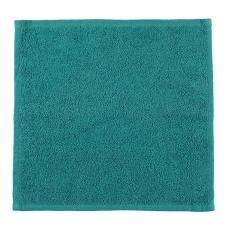 Салфетка махровая цвет темно-зеленый 30/30 см