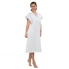 Сорочка женская ночная для рожениц бязь отбеленная 60-62 рост 180-188
