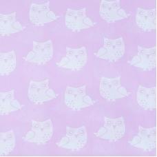 Ткань на отрез бязь плательная 150 см 1682/2 цвет розовый
