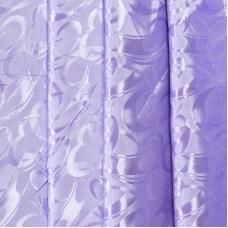 Портьерная ткань 150 см на отрез 19 цвет сиреневый