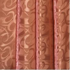 Портьерная ткань 150 см на отрез 16 цвет терракотовый