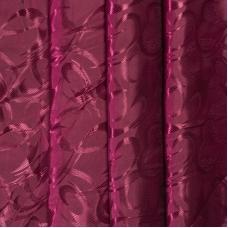 Портьерная ткань 150 см на отрез 24 цвет бордовый