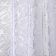 Портьерная ткань 150 см на отрез 27 цвет белый