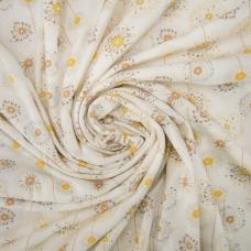 Ткань на отрез кулирка R4114-V1 Одуванчики