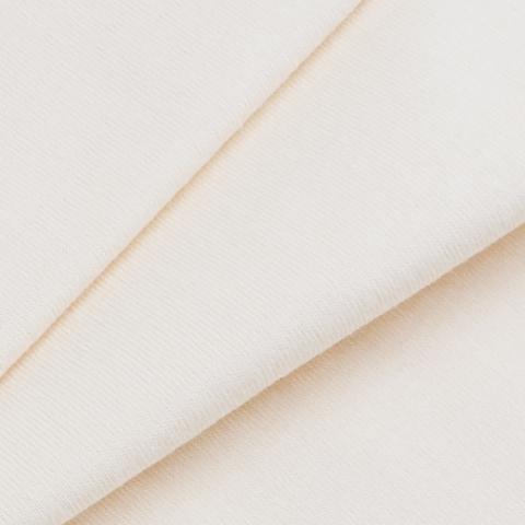 Мерный лоскут кулирка гладкокрашеная карде М-2005 цвет экрю 35/98х2 см