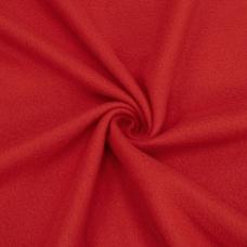 Ткань на отрез флис цвет Красный