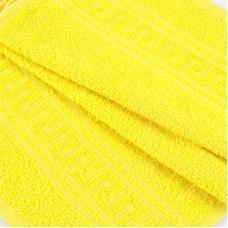 Полотенце махровое 30/50 см цвет 1075 лимон