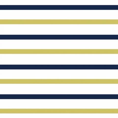 Мерный лоскут интерлок пенье Двухцветная полоска 58-18 70/98х2 см