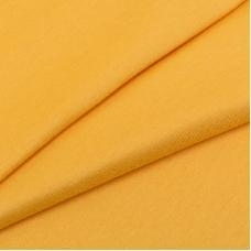 Ткань на отрез кулирка гладкокрашеная 9515 Marigold