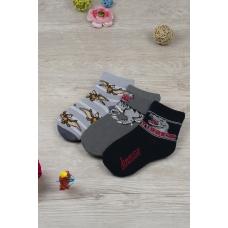 Носки Ящер детские (набор) 4039 р 16-18